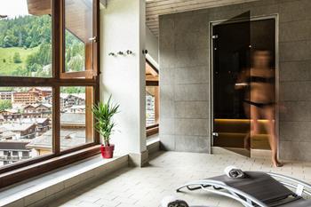 Sauna de l'hôtel Beauregard 4 étoiles à La Clusaz