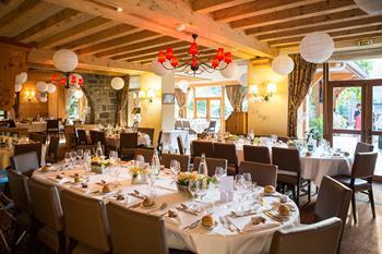 Ambiance Mariage hôtel Beauregard à La Clusaz