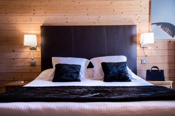 Tête de lit - Hôtel Beauregard à La Clusaz
