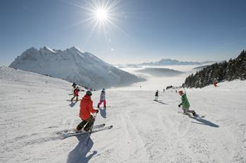 Ski de piste à La Clusaz / Haute-Savoie